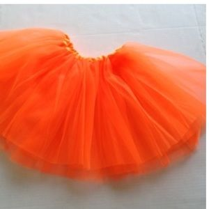 ORANGE DANCE TUTU Fits Sizes 4T-8 NEW